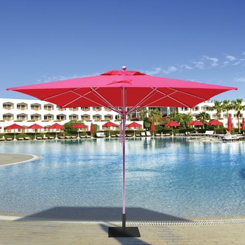10' Square Commercial Patio Umbrella