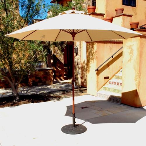 9' Automatic Tilt Patio Umbrella