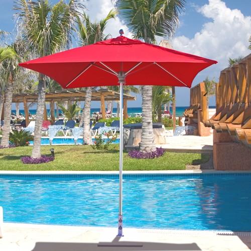 6 X Square Patio Umbrella