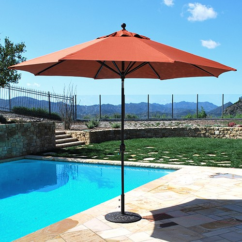 11 auto tilt aluminum patio umbrella - Umbrella Patio