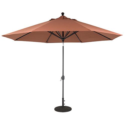 11 foot auto tilt patio umbrella