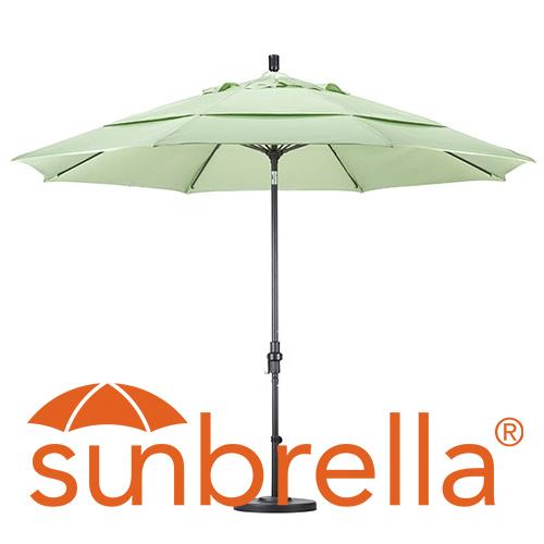 Charmant 11u0027 Sunbrella Patio Umbrellas