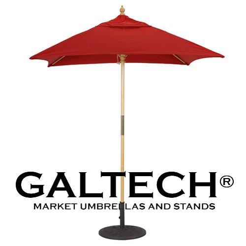6' Galtech Patio Umbrellas