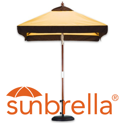 6' Sunbrella Patio Umbrellas
