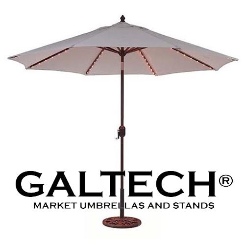 9' Galtech Patio Umbrellas