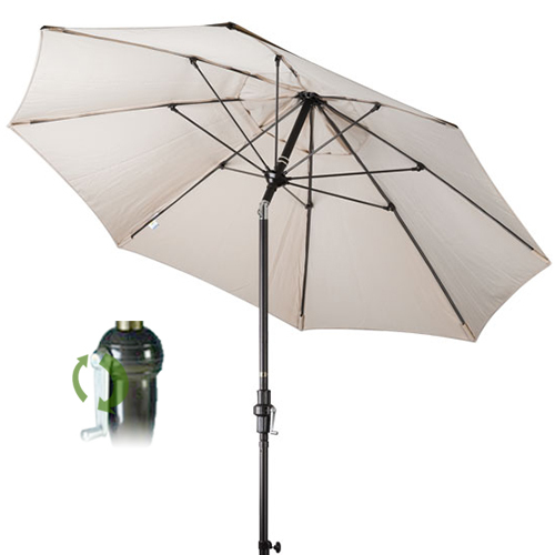 auto tilt patio umbrella