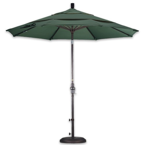 dual wind vent 11' patio umbrellas