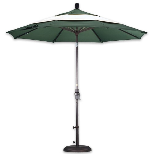 middle accent design patio umbrella