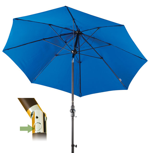 push button tilt patio umbrella