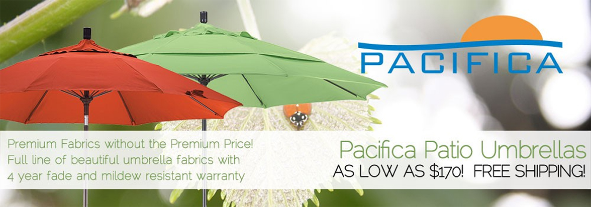 Pacifica Umbrellas - Premium Fabrics Without The Premium Price