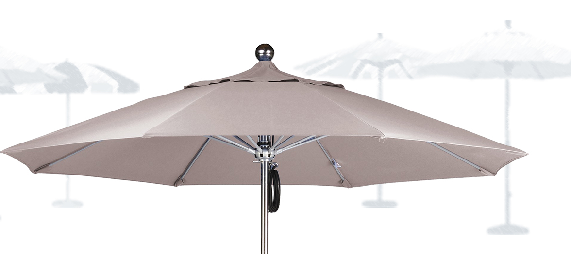 Patio Umbrella or Market Umbrella.  What's the Difference?
