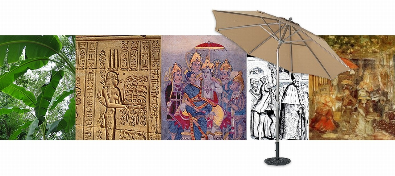 Noble History of the Patio Umbrella