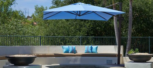 8 Ways To Enjoy Offset Patio Umbrellas
